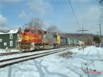 BNSF 8229 is on CSX Q388 at MP294, Keystone sub,